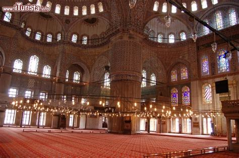 moschea istanbul interno sultanahmet camii by foto istanbul moschea