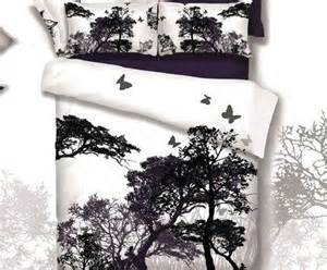 black and white tree comforter shop popular butterfly bedding set from china aliexpress