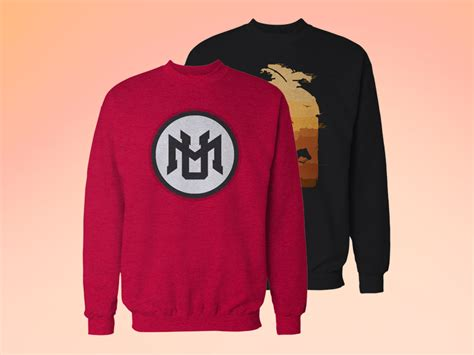 template sweater psd crew neck sweatshirt mockup free by milan vučković