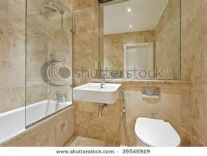 Modern Bathroom Brown Tiles Modern Bathroom With Light Brown Marble And