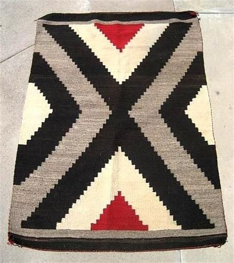 american indian rug vintage circa 1900 navajo american indian rug