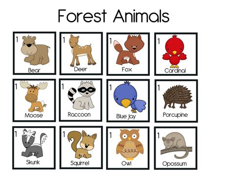 printable animal habitat matching game the crazy pre k classroom march 2013