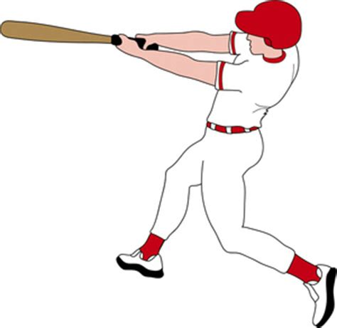 baseball player swinging bat clip art batter clipart image baseball player swinging his bat