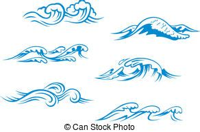 drawing a basic wave can be but after a while it can waves clipart and stock illustrations 531 200 waves