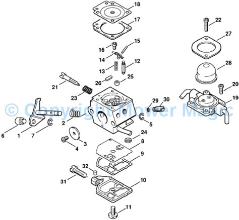 stihl fs 80 parts diagram stihl carburetor diagram car interior design