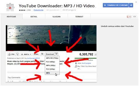 download youtube dari chrome cara mudah download video dari youtube