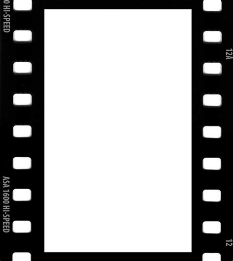 free filmstrip template picture borders free templates downloadable