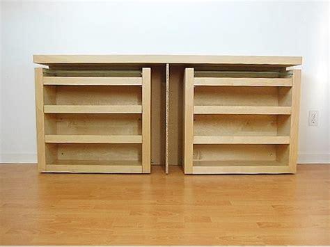 ikea malm size 3 pc headboard bed shelf set
