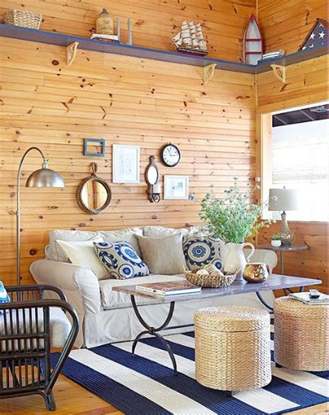 25 best ideas about nautical living rooms on coastal inspired printed navy and