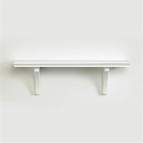 Installing A White Shelf For Elegant Organization White Shelves