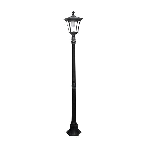 Solar Led L Post Lights paradise garden gl23702bk solar led high power patio post
