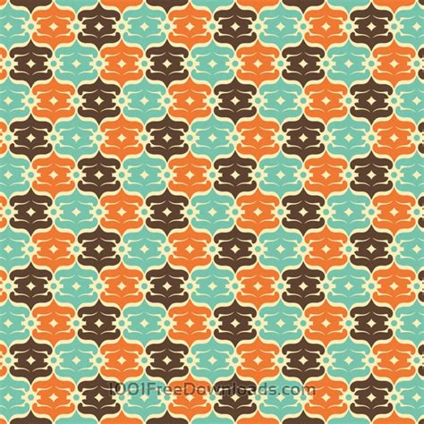 svg pattern object free vectors retro blue orange and brown object pattern
