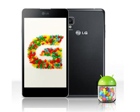 lg to roll out android 4 1 update for select high end optimus devices starting from november