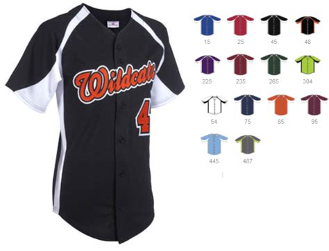 Kaos Baseball 49 design a1 clutch series custom baseball jersey