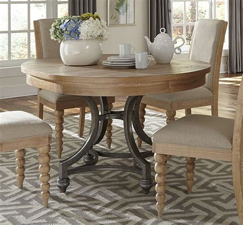 liberty furniture harbor view  dining table  sand
