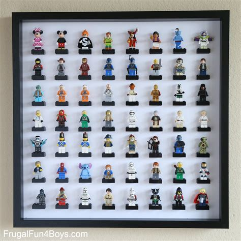 Frame Lego Minifigure Series 15 Display lego minifigure display with ikea frames