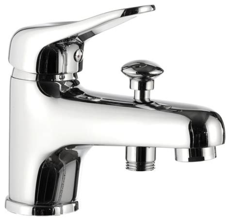 contemporary bathtub faucets modern style chrome single lever bath diverter