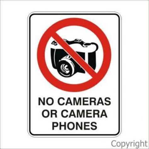 cameri no no or phones 450x600mm by wilcox safety