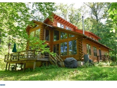 wow house for sale in phoenixville custom log cabin with