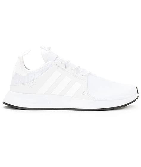 adidas xplorer white reflective shoes zumiez