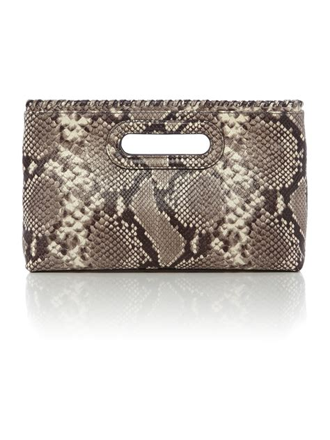 Bags Are Big Carry A Clutch by Michael Kors Rosalie Large Clutch Bag In