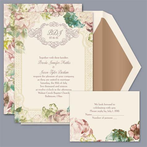 David S Bridal Wedding Invitations