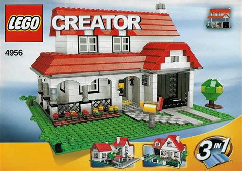 home creator 4956 1 house brickset lego set guide and database
