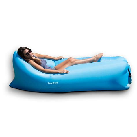 inflatable couch for pool poolmaster easy breeze air sofa land or water 70778 the