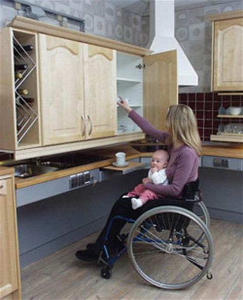 Handicap Accessible Kitchen Cabinets Freedom Kitchen Cabinet Shelf Lifts For Wheelchair Accessibility Lots Of Ideas On This