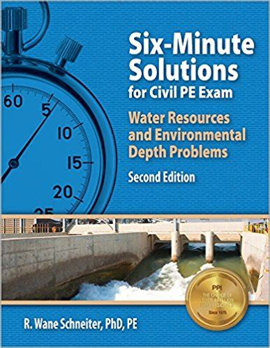 minutes soultion   water  environmental pe exam books  civil engineering