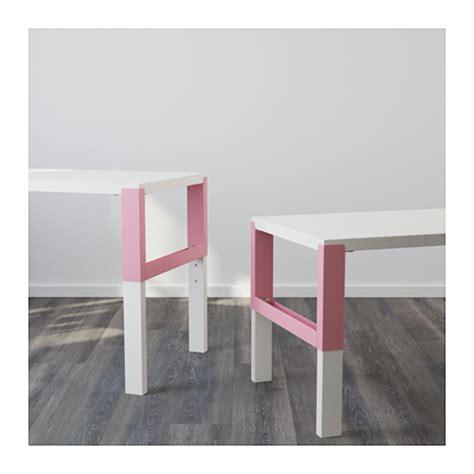 ikea pahl p 197 hl desk white pink 96x58 cm ikea