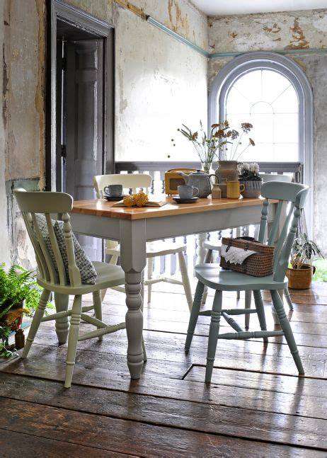country style pine table and chairs best 25 painted dining chairs ideas on