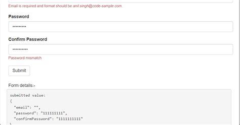 password pattern angularjs angular 4 form password and conform password match