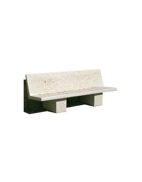 panchina cemento panchina cemento in calcestruzzo bianco mediterranea