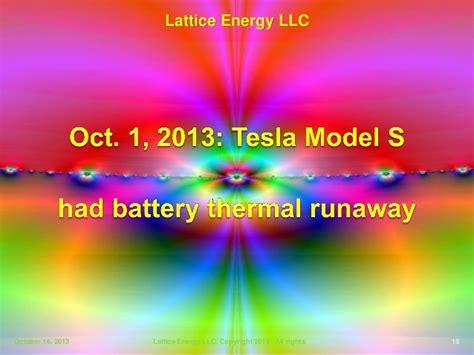 energy progress lighting llc lattice energy llc technical discussion oct 1 tesla