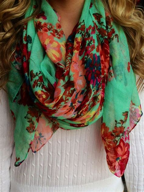 best 25 floral scarf ideas on scarves