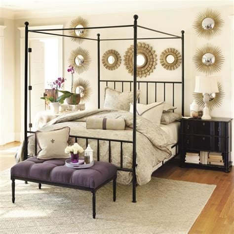 Bedroom 24 Elegant Iron Canopy Bed Designs To Inspire Black Metal Canopy Bed Frame