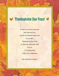 thanks giving cards word template thanksgiving dinner invitation wording cimvitation