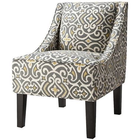yellow and grey accent chair pin by lehner on for the home
