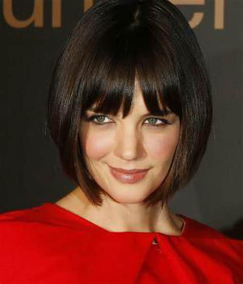 chin length bob with bangs how to pick the right short hairstyle