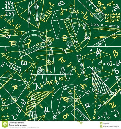 element of a pattern in math mathematics seamless pattern stock photo image 28820320
