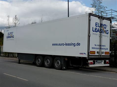 euro leasing k 252 hlkoffer sattelauflieger euro leasing abgestellt in