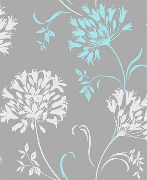 Wallpaper Grey And Teal | turquoise and grey wallpaper google search decorating