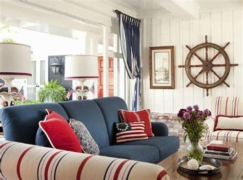 navy sofa decorating ideas navy blue sofa idea http www completely coastal com