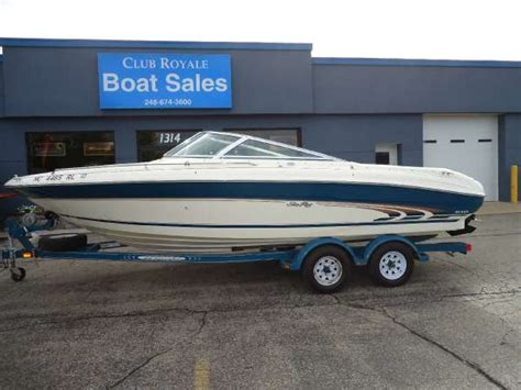 boat service waterford mi 1997 sea ray 210 br 21 foot 1997 motor boat in waterford