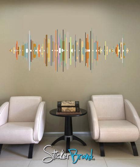 graphic wall decal sticker sound wave gwray