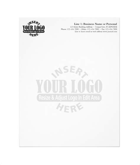 business letterhead maker free 20 business letterhead templates free sle exle