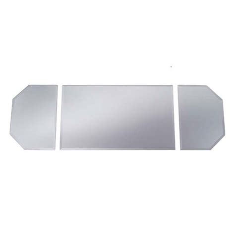 Mirror Table Runner With Beveled Edge Table Mirrors