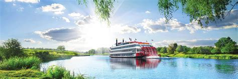 mississippi river river boat cruises best upper lower mississippi river cruises american