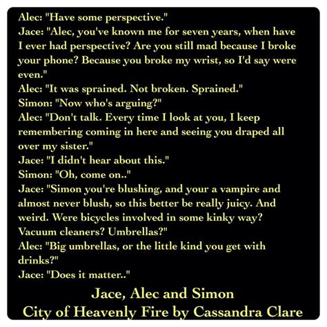 vire academy quotes jace lightwood alec lightwood and simon lewis city of